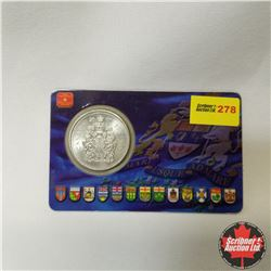 """Canada Fifty Cent 2000 """"The Coat of Arms of Canada"""""""