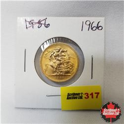 1966 Great Britain Gold Sovereign