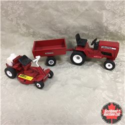Snapper Combo: Ride on Mower, Garden Tractor & Wagon (Scale: 1/16)