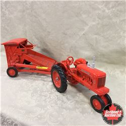 Allis-Chalmers Combo: WD45 & Roto Baler  (Scale: 1/16)