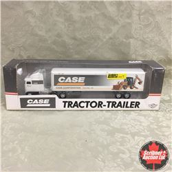CASE Tractor Trailer Authentic Detailed Replica (Scale: 1/64)