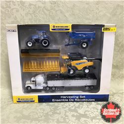 New Holland Harvesting Set (Scale: 1/64)