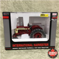 IH Highly Detailed Farmall 340 Gas Tractor (Scale 1/16)