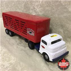 Structo Truck & Stock Trailer