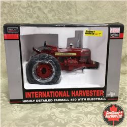 IH Highly Detailed Farmall 450 w/Electrall (Scale 1/16)