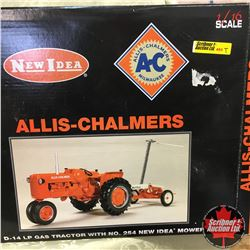 A-C D-14LP Gas Tractor w/#254 New Idea Mower (Scale: 1/16)