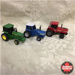 Friction Powered Trio : IH 5088, Ford TW-35 & John Deere  (Scale 1/64)