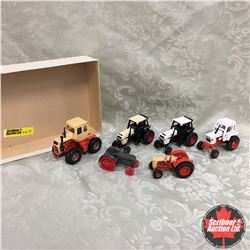 Tray Lot: Variety of CASE Tractors (Scale 1/64)