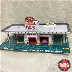 "MARX Tin Toy ""Service Center"""