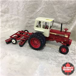 Tractor Disc Combo IH 1456 w/Discer (Scale: 1/16)
