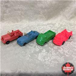 Tray Lot: 4 Tomte-Laerdal Toys