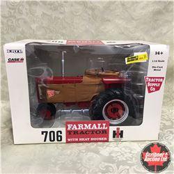 Farmall 706 w/ Heat Houser (Scale: 1/16)