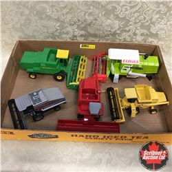 Tray Lot: Combine Combo: Variety of Small Combines