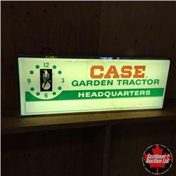 """CASE IH (Garden Tractor HeadQuarters) Clock """"'70's"""""""