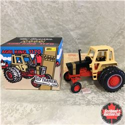 """CASE Agri King 1170 Toy Farmer Black Knight """"Special Edition 1996"""" (Scale: 1/16)"""