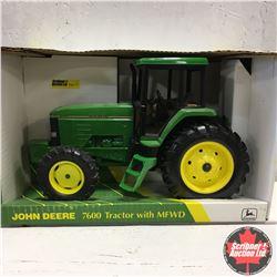 John Deere 7600 w/MFWD (Scale: 1/16)