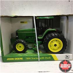 John Deere 7800 MFWD Duals Collectors Edition (Scale: 1/16)
