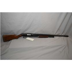 "Winchester Model 12 .12 Ga Pump Action Shotgun w/ 26"" bbl with Lyman adjustable choke [ raised matte"