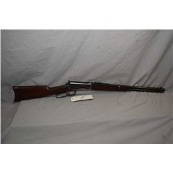 "Winchester Model 1894 .30 WCF Cal Lever Action Rifle w/ 20"" bbl [ blued finish faded more in carry a"
