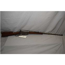 "Winchester Model 1895 .30 US Cal Lever Action Rifle w/ 28"" bbl [ fading blue finish turning brown in"