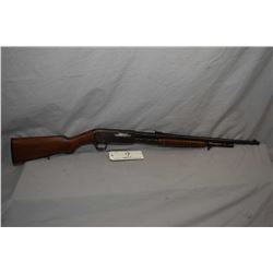 "Remington Model 14 .30 Rem Cal Pump Action Rifle w/ 22"" bbl [ fading blue finish turning brown, barr"