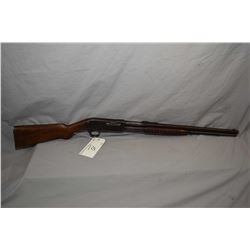 "Remington Model 14 1/2 .44 Rem or .44 WCF Cal Pump Action Rifle w/ 22"" bbl full mag [ fading blue fi"
