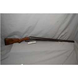 "Parker Bros. Model 2 .12 Ga ? Side By Side Break Action Shotgun w/ 30"" brown Damascus pattern barrel"