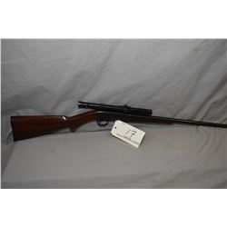 "F.N. ( Browning's Patent ) Model 22 Auto .22 Short Cal Take Down Semi Auto Rifle w/ 19 1/4"" bbl [ bl"