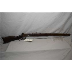 "Winchester Model 1886 .45 - 90 WCF Cal Lever Action Rifle w/ 26"" octagon barrel full mag [ fading pa"