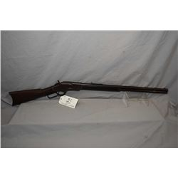 "Winchester Model 1873 3rd Model .38 Cal Lever Action Rifle w/ 24"" round barrel full mag ( muzzle app"