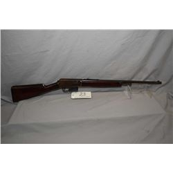 "Winchester Model 1905 SL .35 SL Cal Mag Fed Semi Auto Rifle w/ 22"" bbl [ blued finish turning brown,"