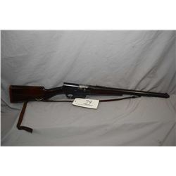 "F.N. ( Browning Patent ) Model 1900 .35 Rem Cal Semi Auto Rifle w/ 22"" bbl ( Similiar to Remington M"