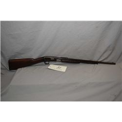 "Remington Model 12 - A .22 LR Cal Tube Fed Pump Action Rifle w/ 22"" bbl [ blued finish turned brown"