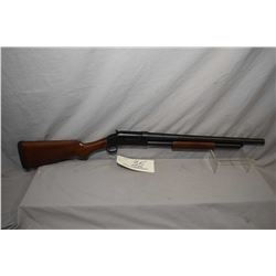 "Norinco Model 97 .12 Ga 2 3/4"" Pump Action Shotgun w/ 20"" bbl w/ screw in choke [ blued finish, plai"