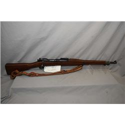 "U.S. Springfield Armoury Model 1903 .30 - 06 Sprg Cal Bolt Action Full Wood Military Rifle w/ 24"" bb"