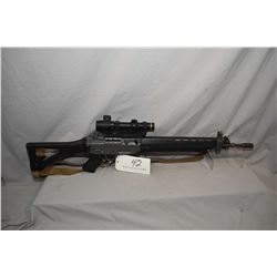 "Swiss Arms Model Classic Green 5.56 MM Nato Cal 5 Shot Semi Auto Rifle w/ 20 3/4"" bbl [ flat grey fi"