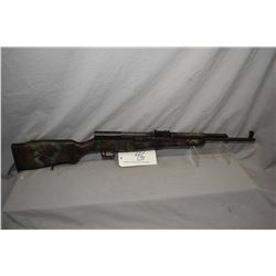 "Norinco Model SKS 7.62 x 39 Russ Cal Mag Fed Semi Auto Military Rifle w/ 18 1/4"" bbl [ fading blue f"