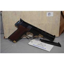 Restricted - High Standard Model Victor .22 LR Cal 10 Shot Semi Auto Pistol w/ 140 mm bbl [ appears