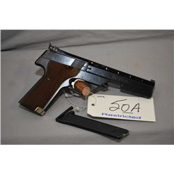 Restricted - High Standard Model Victor .22 LR Cal 10 Shot Semi Auto Pistol w/ 140 mm bbl [ appears