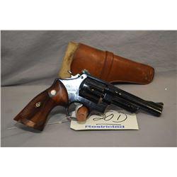 Restricted Smith & Wesson Model 19 .357 Mag Cal 6 Shot Revolver w/ 127 mm bbl [ blued finish, adjust