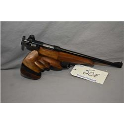 Restricted - Schultz & Larsen Model 51 .22 LR Cal 1 Shot Silouhette Style Pistol w/ 279 mm bbl [ app