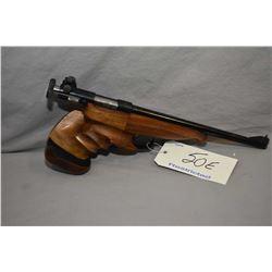 Restricted - Schultz & Larsen Model 51 .22 LR Cal 1 Shot Silouhette Style Pistol w/ 279 mm bbl [ app