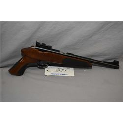 Restricted - Anschutz Model Exemplar .22 LR Cal 5 Shot Bolt Action Silouhette Style Pistol w/ 554 mm