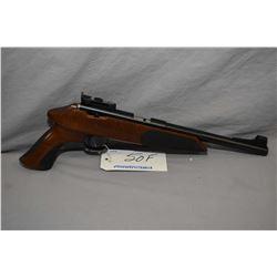 Restricted - Anschutz Model Exemplar .22 LR Cal 5 Shot Bolt Action Silouhette Style Pistol w/ 554 mm