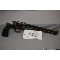 Restricted Marble Model Game Getter .22 LR Cal / .44 Shot 2 Shot Multi Barrel Combination Pistol w/
