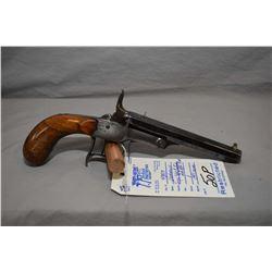 Restricted Unknown Model Single Shot Cartridge Pistol .22 Rimfire Cal One Shot Pistol w/ 141 mm bbl
