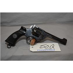 Restricted Enfield Model # 2 Mark 1* .38 S & W Cal 6 Shot Revolver w/ 127 mm bbl [ fading blue finis
