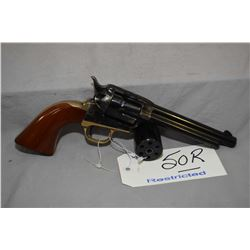 Restricted Uberti Model 1873 Stallion .22 LR/ .22 Mag Cal 6 Shot Revolver w/ 140 mm bbl [ blued fini