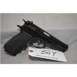 Restricted CZ Model CZ 75 .9 MM Luger Cal 10 Shot Semi Auto Pistol w/ 121 mm bbl [ blued finish, sta