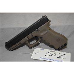 Restricted Glock Model 22 .40 S & W Cal 10 Shot Semi Auto Pistol w/ 114 mm bbl [ blued finish, fixed